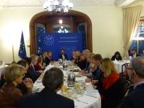 Thursday, 24 November 2016 - Breakfast with Daniel J. Costello, Ambassador of Canada to the EU