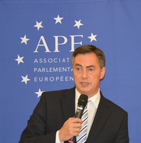 David McAllister, MEP and Chair of the Delegation for relations with the United States