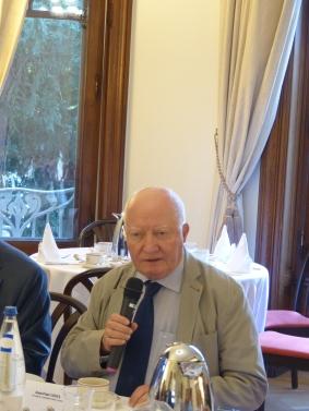 Breakfast with Jean-Paul Costa