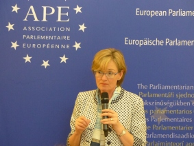 Mairead McGuinness, Vice President of the European Parliament