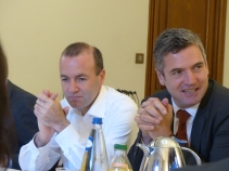 Manfred Weber, MEP, and Herbert Dorfmann, President of the APE