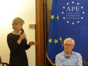 Inese Vaidere, MEP and member the APE,