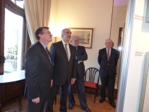 Visit of the President of the Greek Parliament