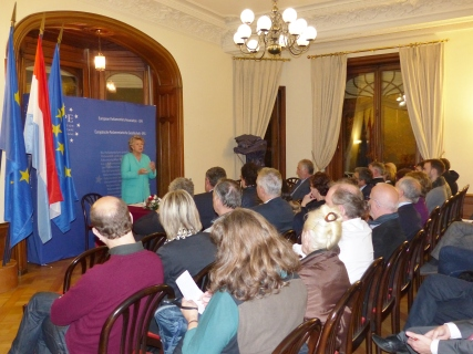 "Conference with Viviane Reding, MEP and former Vice president of the European Commission in charge of Justice, Fundamental Rights and Citizenship ""Personal Data belong to citizens: a democratic battle"""