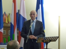 His Excellency Ed Kronenburg, Ambassador of Netherlands in France