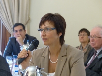Ulrike Müller, MEP and member of the APE