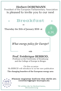 Breakfast debate with Frédérique Berrod