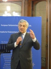 Antonio Tajani, President of the European Parliament and member of the APE