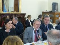 Elisabeth Köstinger, MEP and Vice President of the APE, Michael Gahler, MEP and Vice President of the APE, and Herbert Dorfmann, MEP and President of the APE