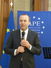 Manfred Weber, MEP and Vice President of the APE