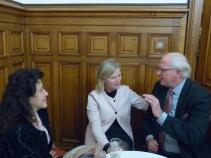 Sheherazade Hoyer, Annie Schreijer-Pierik, MEP, and Heinrich Golz