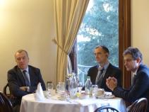Marco Marsilli, Ivars Pundurs and Piero Vaira, Ambassadors and members of the APE