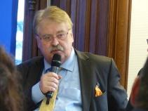 Elmar Brok, MEP and member of the APE