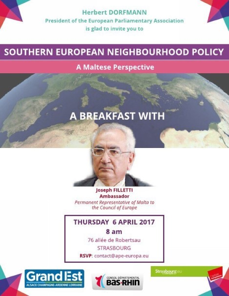 Breakfast with Ambassador Joseph Filletti