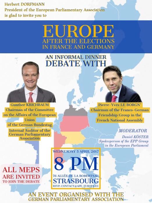 Dinner Debate - 5 April 2017