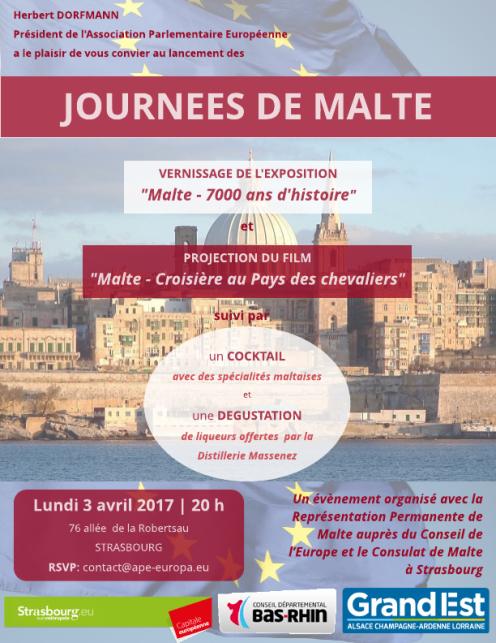 Lancement Journées de Malte - 3 avril 2017