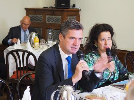 Herbert Dorfmann, MEP and President of the APE