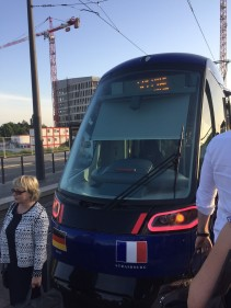 Wednesday 14 June 2017 - Presentation of the new tram line Strasbourg – Kehl