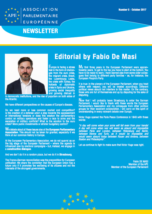Newsletter October EN