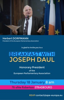 Breakfast with Joseph Daul