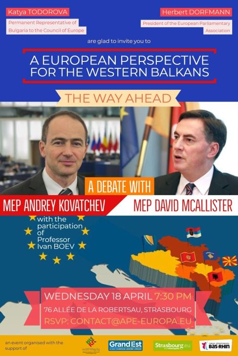 DEBATE a European perspective for the Western Balkans