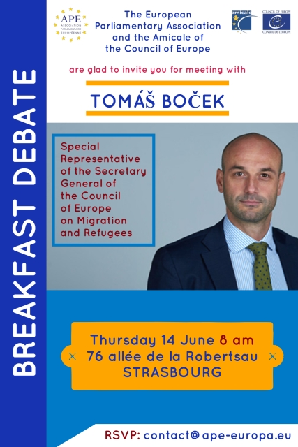 Breakfast with Tomáš Boček