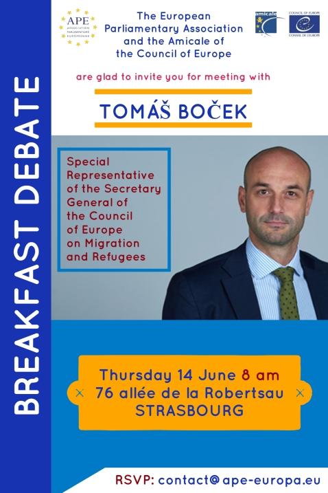 BREAKFAST with Tomas Bocek