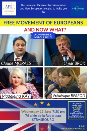 DEBATE Free Movement of Europeans. And now what